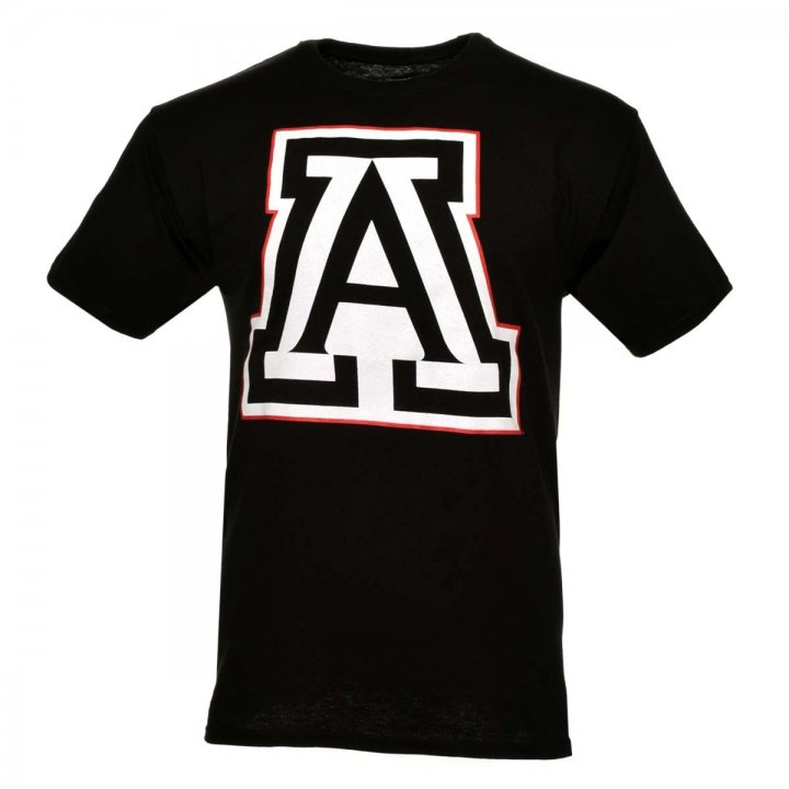 Arizona Wildcats NCAA Color Pop Tee (Black)