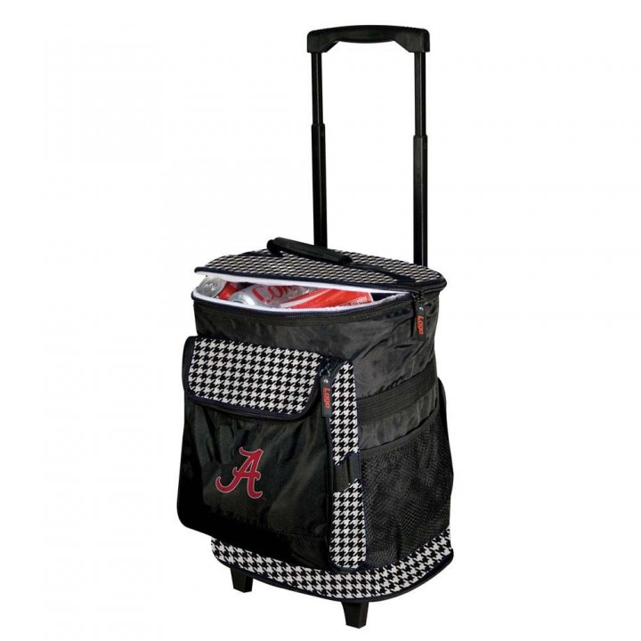 Alabama Crimson Tide Houndstooth Rolling Cooler