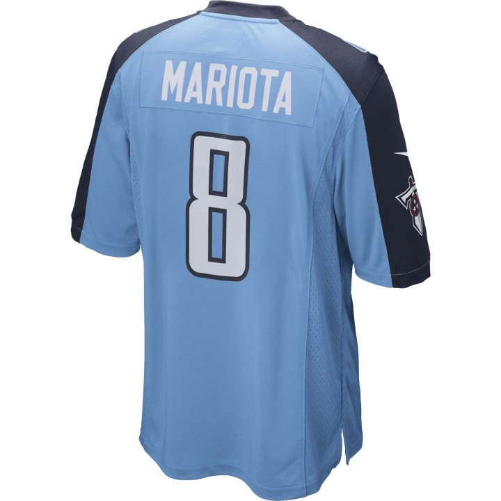 Marcus Mariota Tennessee Titans Nike Game Jersey (Blue)