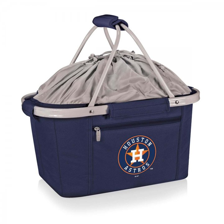Houston Astros Metro Basket Collapsible Tote (Navy)