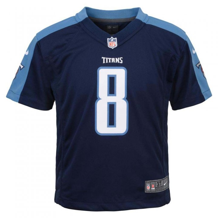 Marcus Mariota Tennessee Titans Youth Nike Game Jersey (Navy)