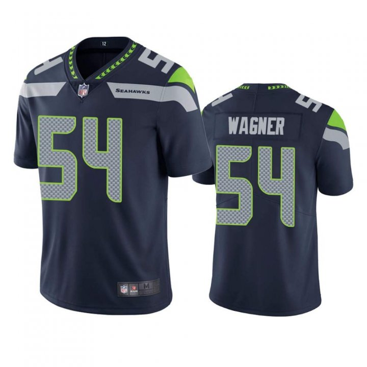 Franklin Sports Men's Seattle Seahawks #54 Men Bobby Wagner Color Rush Limited Jersey