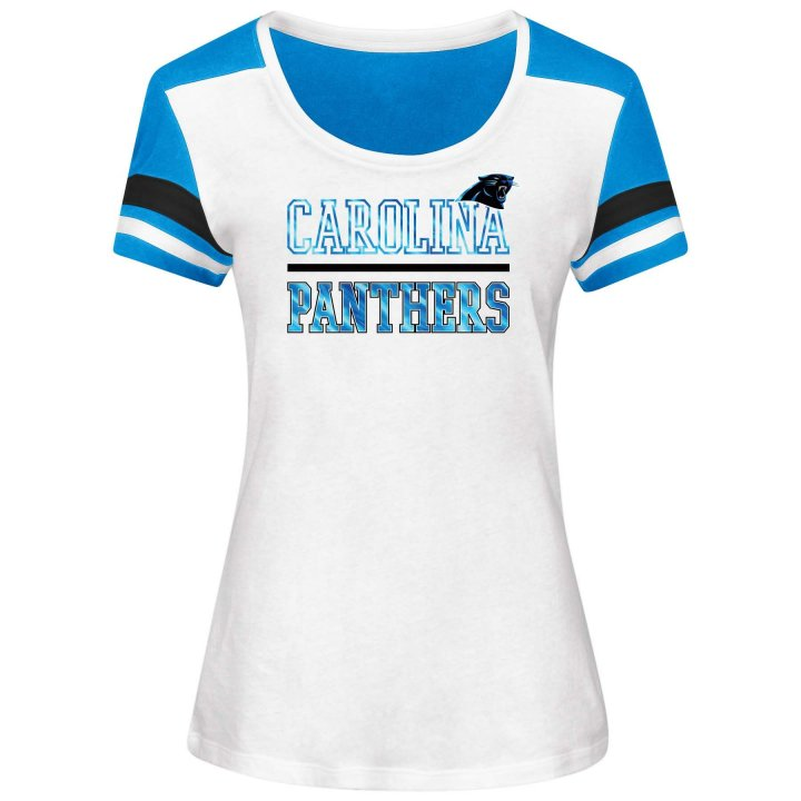 Carolina Panthers NFL Moments Of Momentum Tee (White)