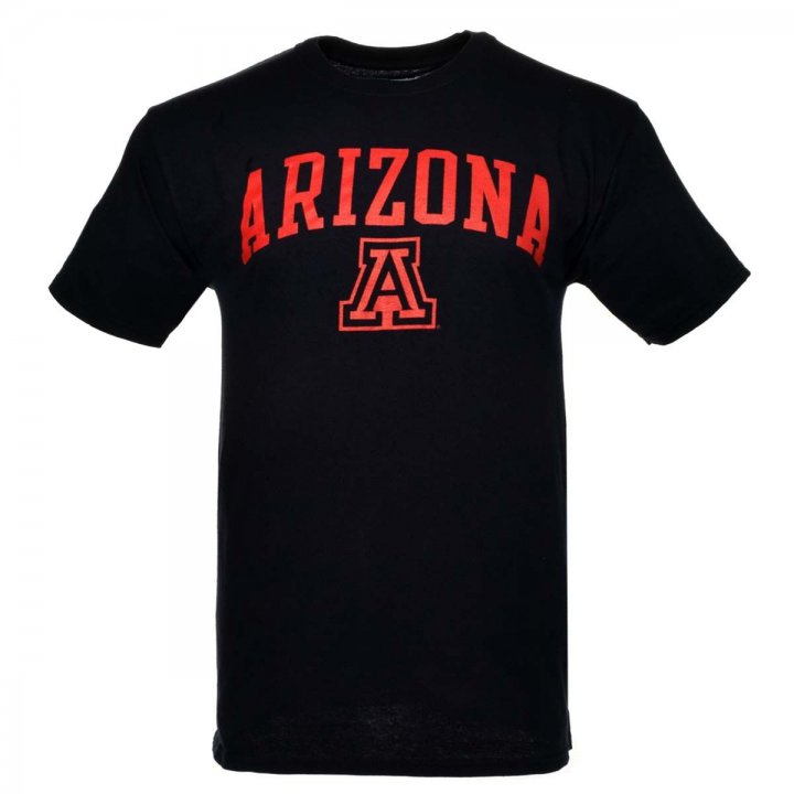 Arizona Wildcats NCAA Arch And Logo Tee (Navy)