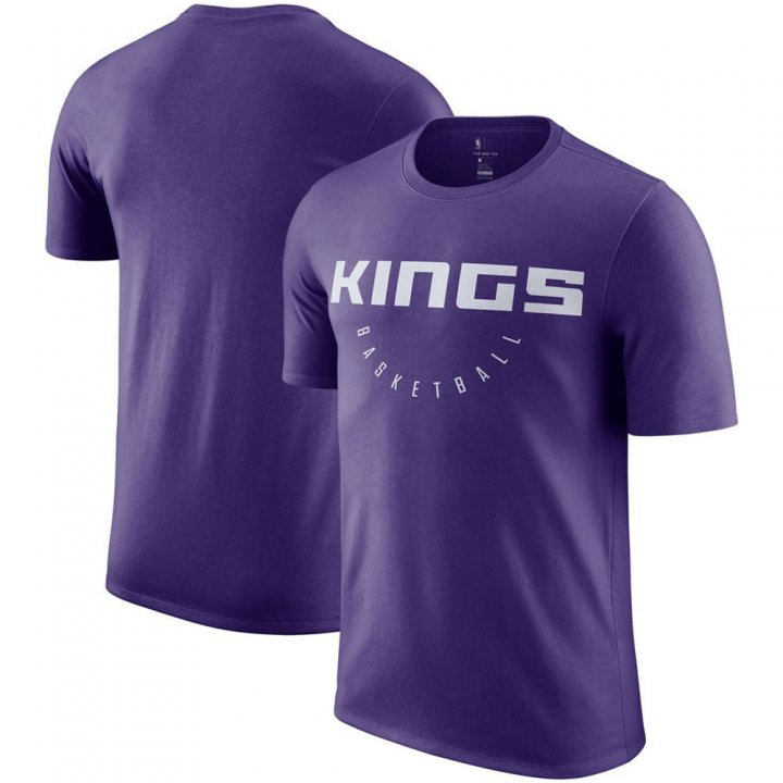 Franklin Sports Sacramento Kings ractice Legend Purple T-Shirt