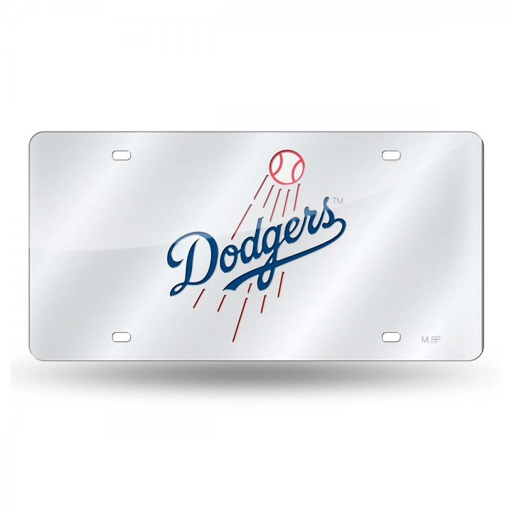 Los Angeles Dodgers MLB Laser Cut Alternate License Plate Tag