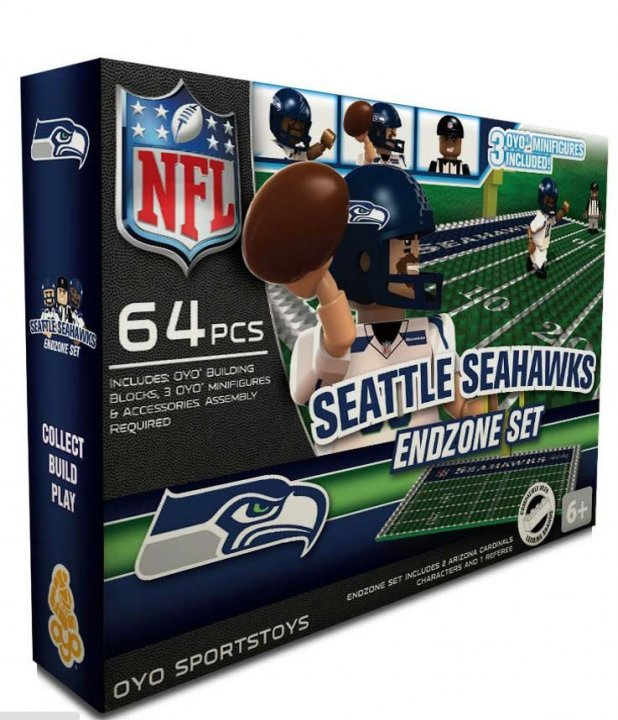 Seattle Seahawks NFL Oyo Endzone Set