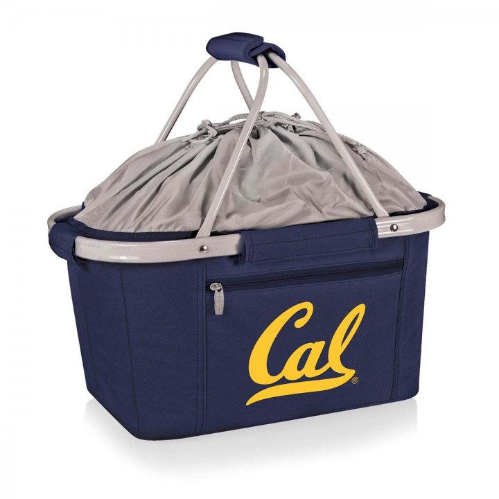 CAL Golden Bears Metro Basket Collapsible Tote (Navy)