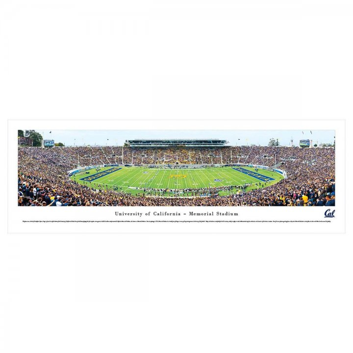 Cal Bears Unframed Panorama