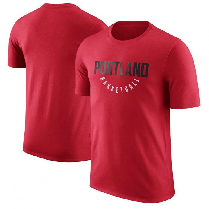 Franklin Sports Portland Trail Blazers Performance Red T-Shirt
