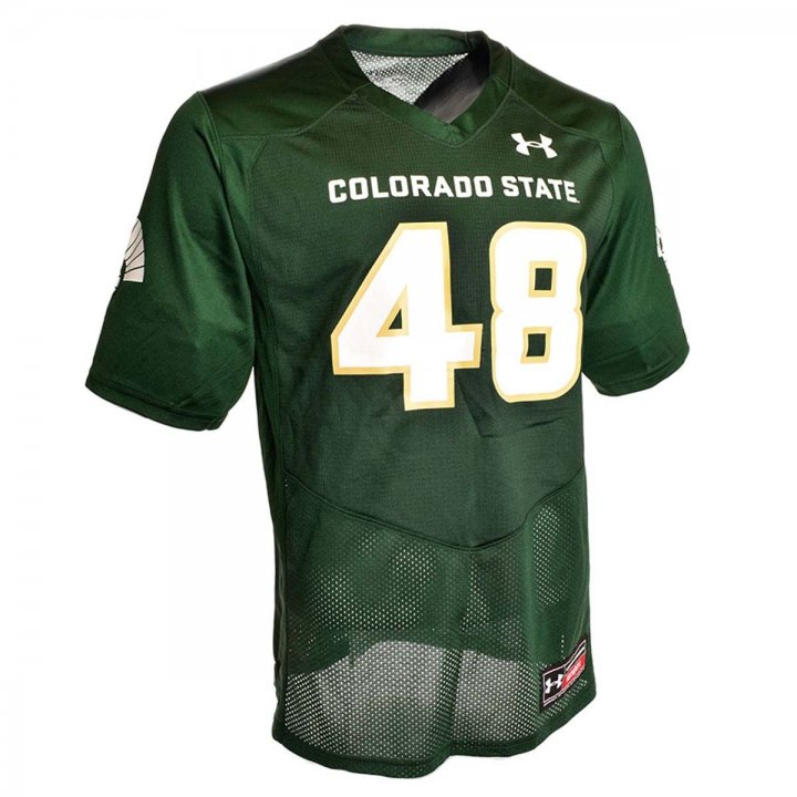 Under Armour Colorado State Rams Replica Football Jersey (Green)