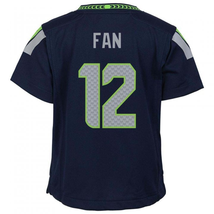 Nike Seattle Seahawks Youth Fan Game Jersey (Navy)