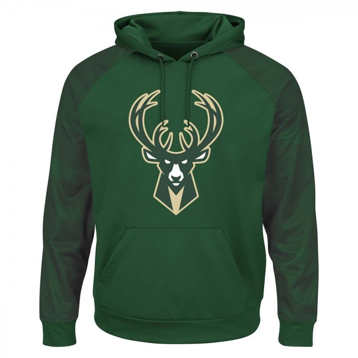 Milwaukee Bucks Armor Ii Synthetic Hoodie (Green)