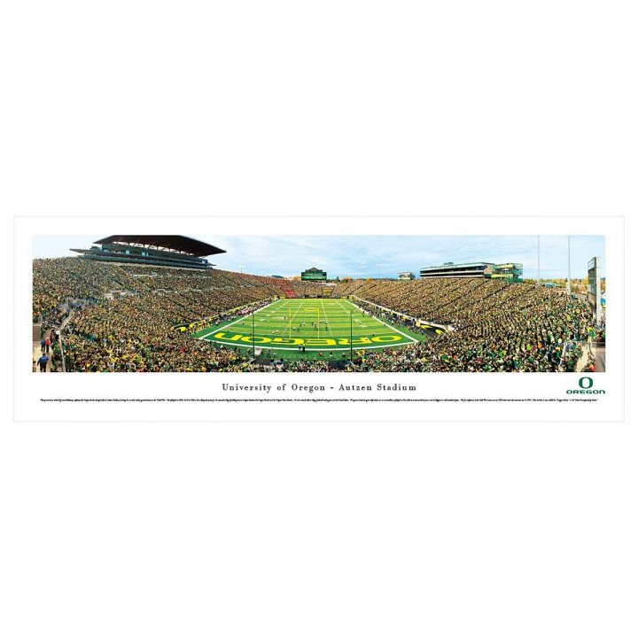 Oregon Ducks Civil War Unframed Panorama