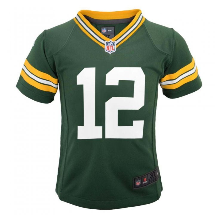 Aaron Rodgers Green Bay Packers Youth Nike Game Jersey (Navy)