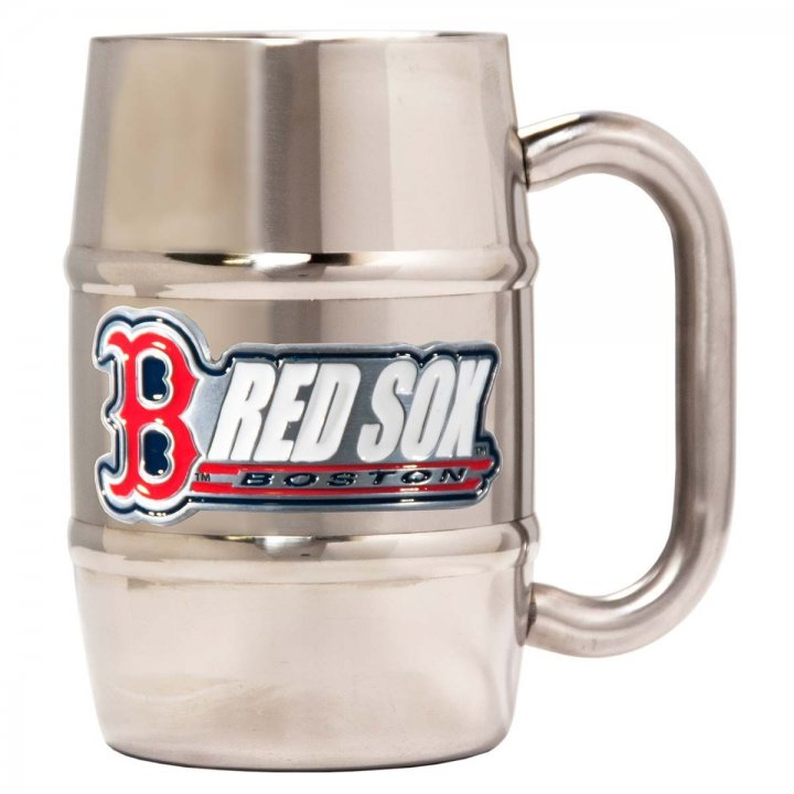 Boston Red Sox Boston Red Sox 16 oz Double Wall Stainless Steel Mug