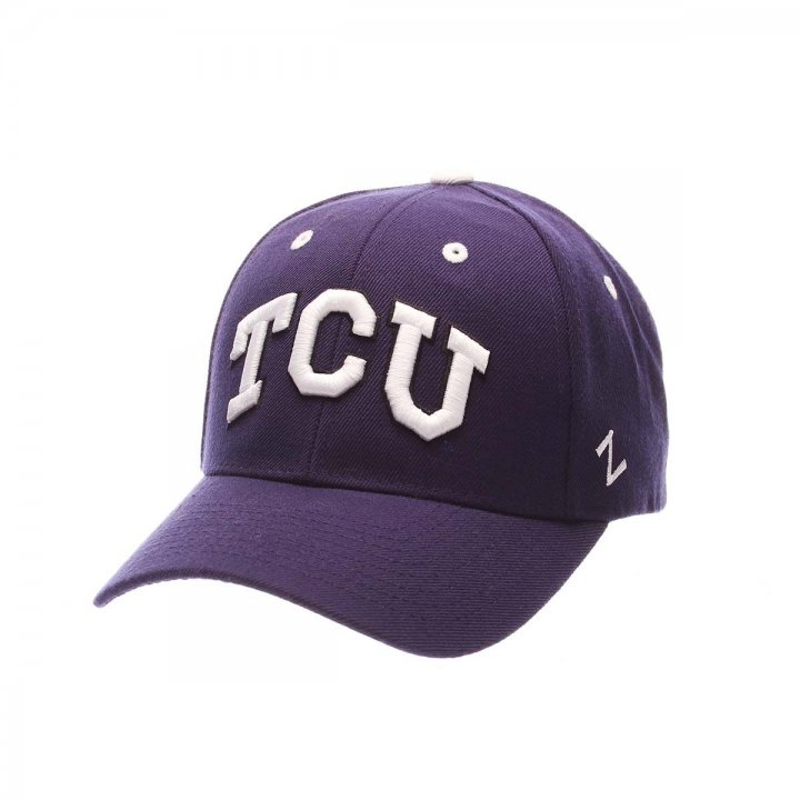 TCU Horned Frogs Competitor Adjustable Hat (Purple)