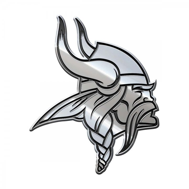 Minnesota Vikings Metal Emblem