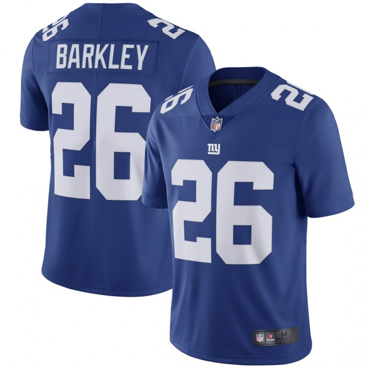 Franklin Sports Youth Kids 26 Saquon Barkley New York Giants Jersey Royal