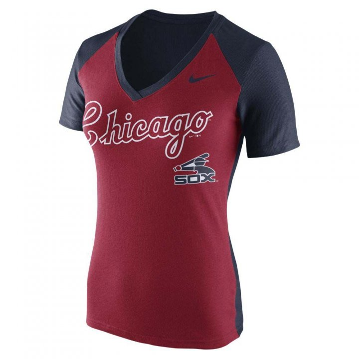 Chicago White Sox MLB Nike Coop Fan Top (Red)