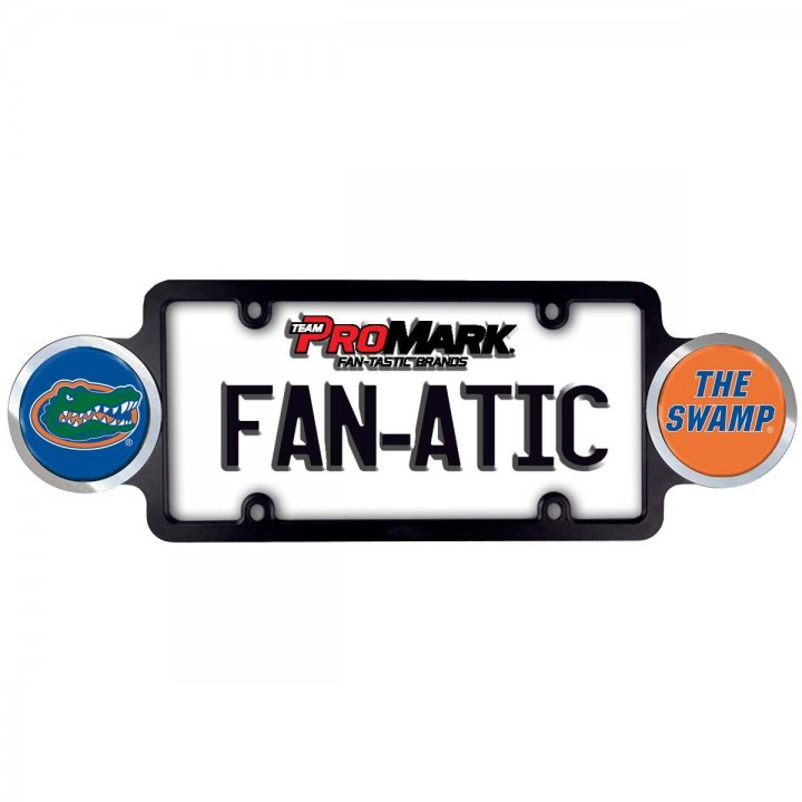 Florida Gators Badge License Plate Frame