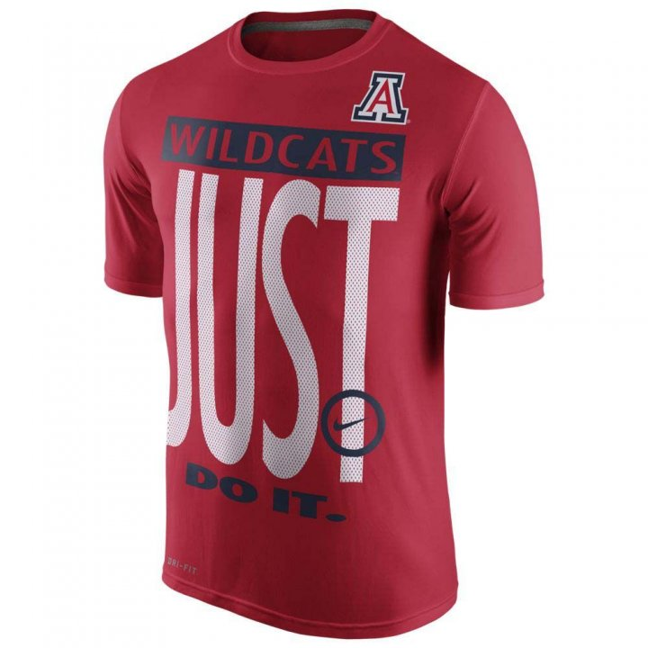 Nike Arizona Wildcats College Legend Just Do It T-Shirt (Red)