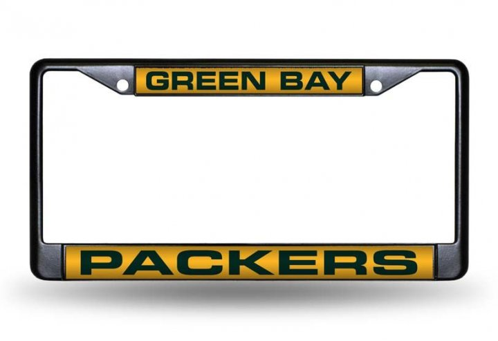 Green Bay Packers NFL Laser License Plate Frame