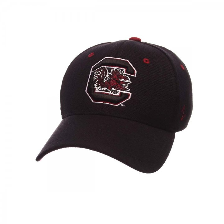 South Carolina Gamecocks Zephyr NCAA Zh Flex Fit Hat (Black)