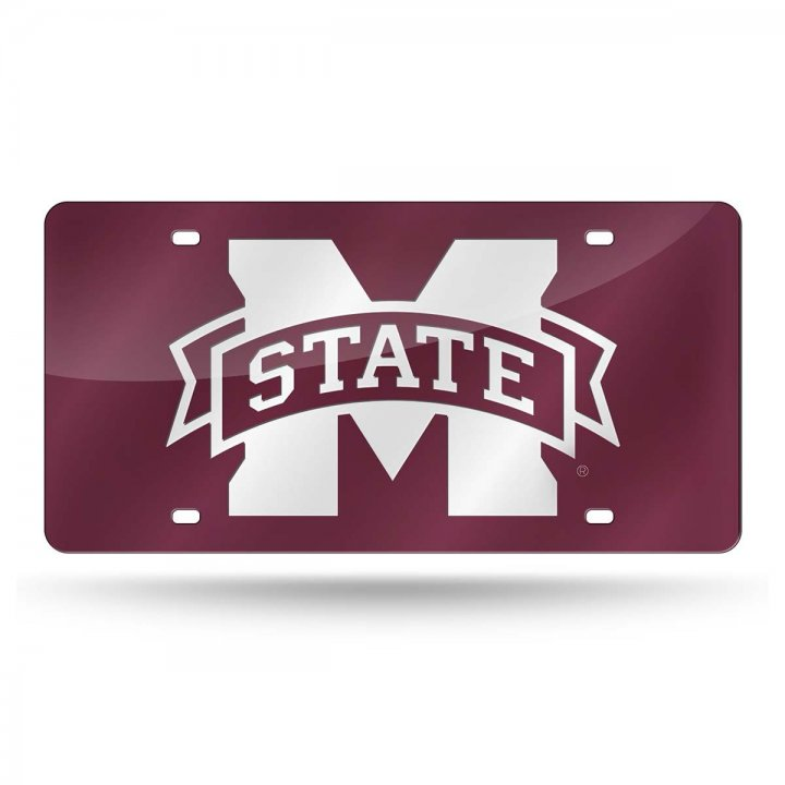 Mississippi State Bulldogs NCAA Laser Cut Tag