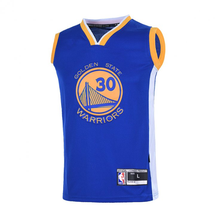 Outerstuff Boys Stephen Curry Golden State Warriors #30 Youth Jersey Blue
