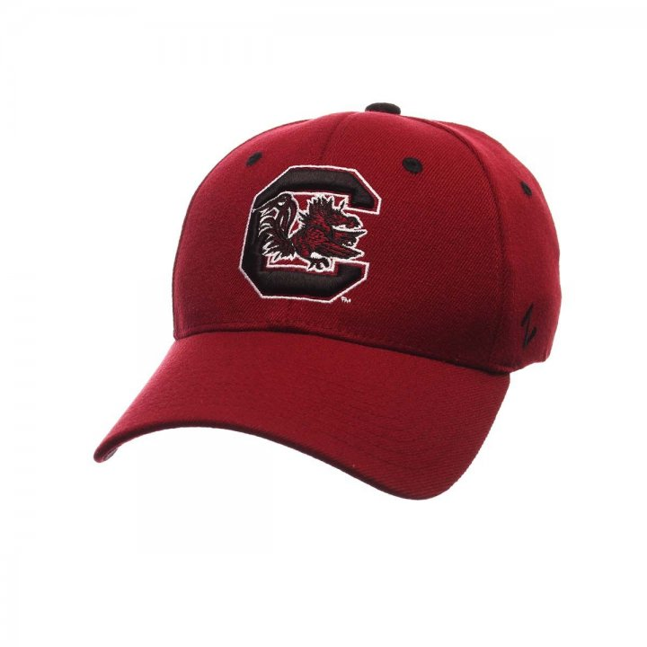 South Carolina Gamecocks ZH Stretch Hat (Red)
