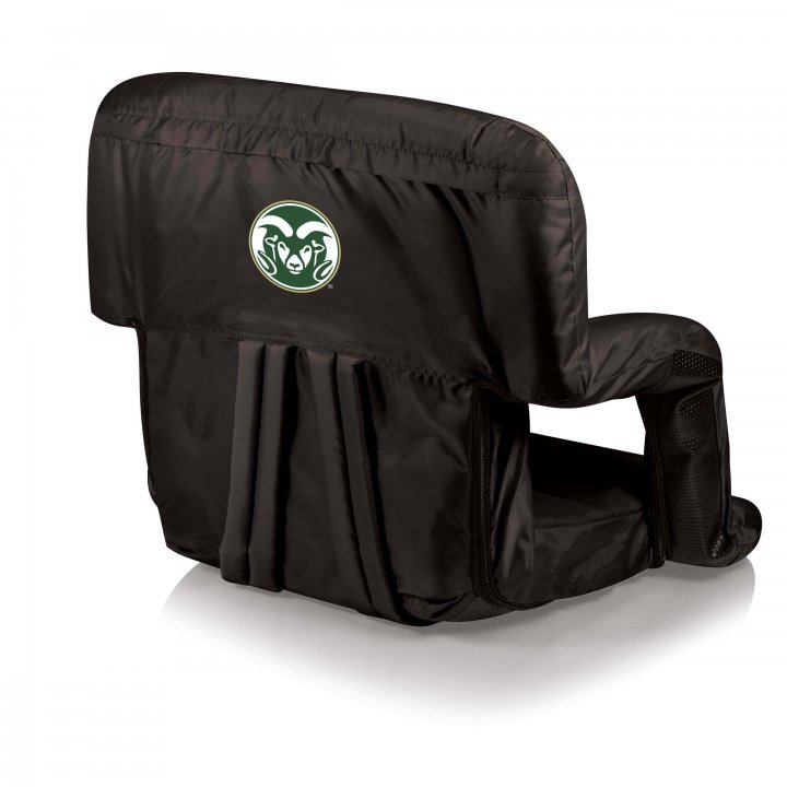 Colorado State Rams Ventura Seat Portable Recliner Chair (Black)