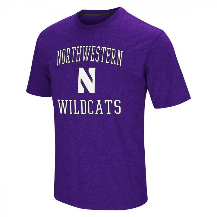 Northwestern Wildcats NCAA Fun Run Tee (Purple)
