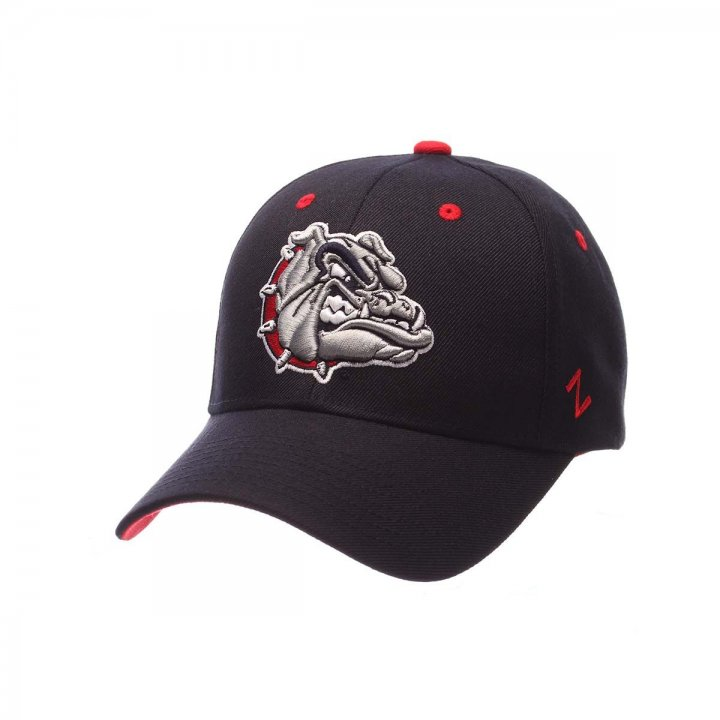 Gonzaga Bulldogs Competitor Adjustable Hat (Navy)