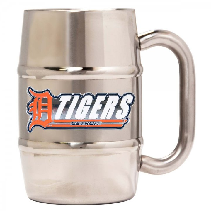 Detroit Tigers Detroit Tigers 16 oz Double Wall Stainless Steel Mug