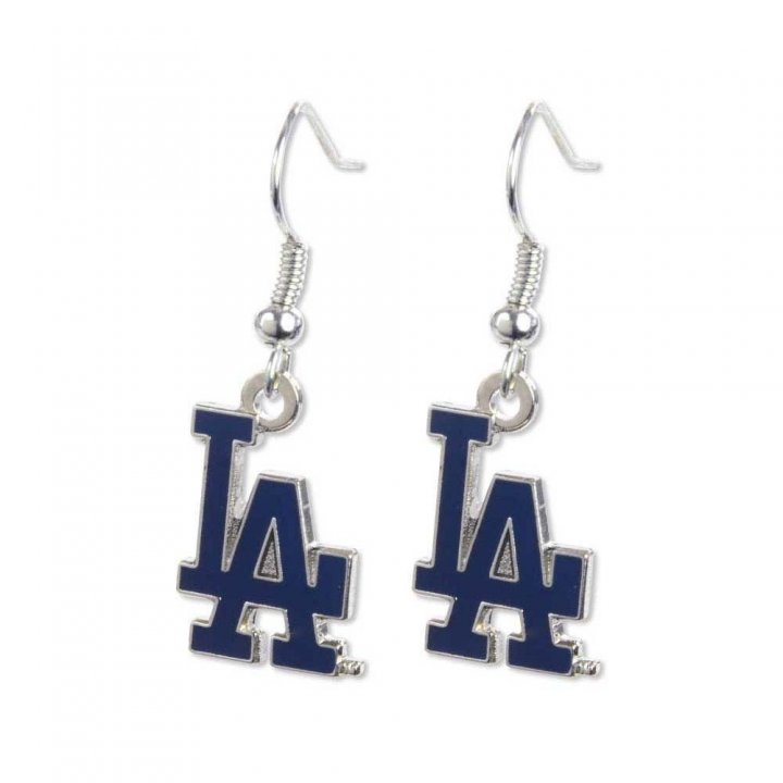 Los Angeles Dodgers Logo Dangler Earrings