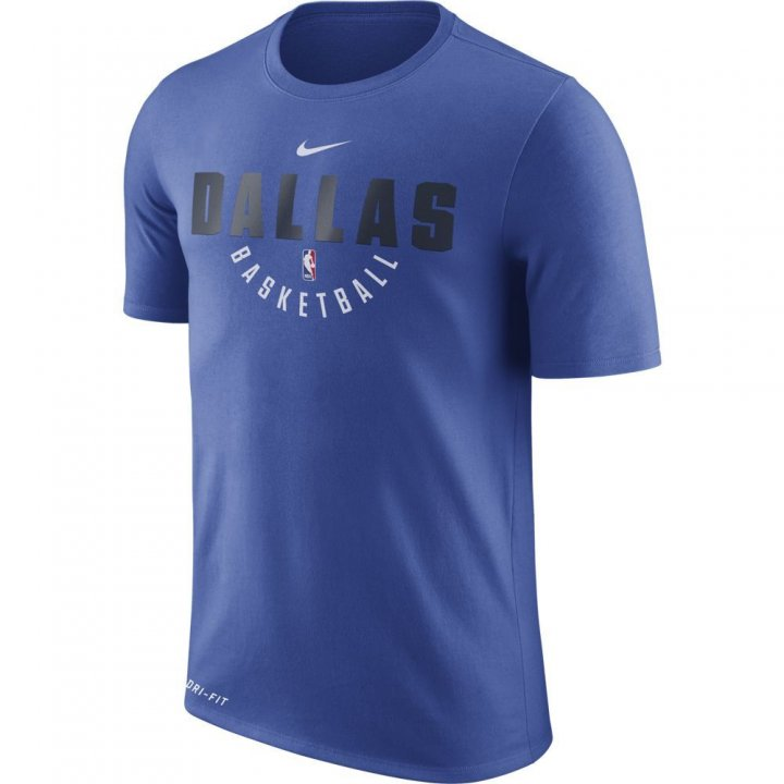 Dallas Mavericks NBA Nike Official Practice Tee (Royal)