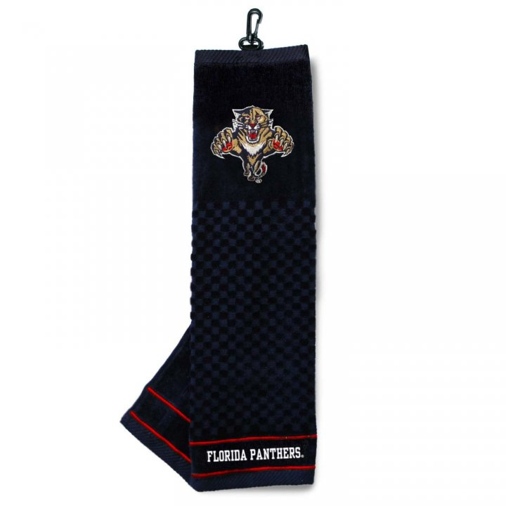 Florida Panthers Embroidered Towel