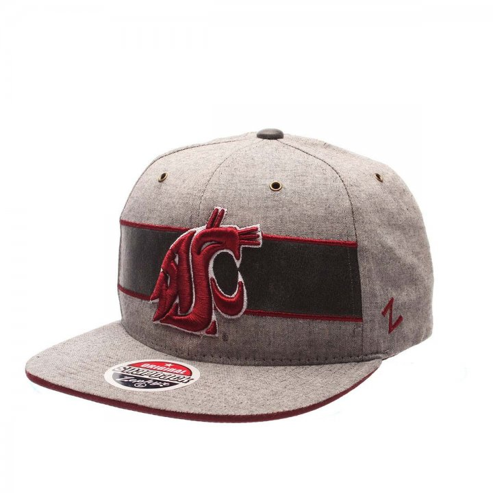 Washington State Cougars NCAA Avenue Hat (Gray)