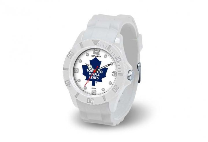 Toronto Maple Leafs NHL Cloud Watch (White)