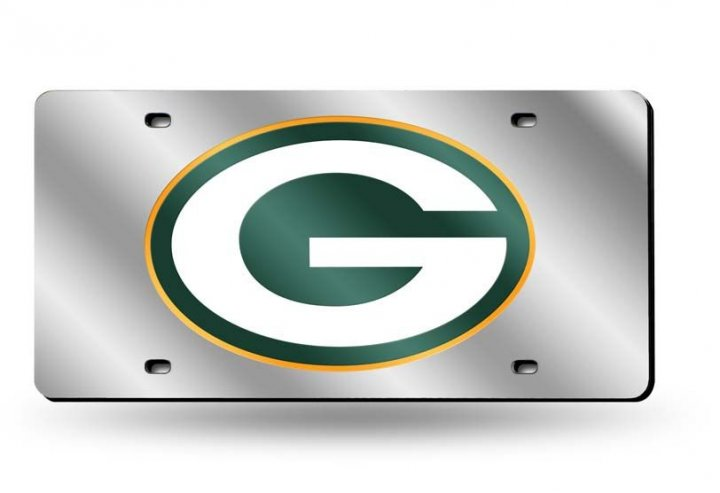 Green Bay Packers NFL Laser Cut Alternate License Plate Tag