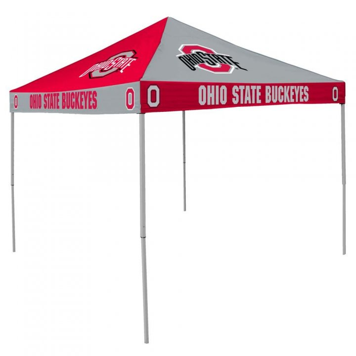 Ohio State Buckeyes Checkerboard Tent