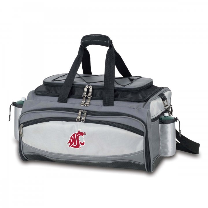 Washington State Cougars Vulcan Portable BBQ and Cooler Tote