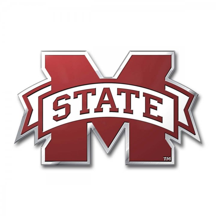 Mississippi State Bulldogs Color Emblem