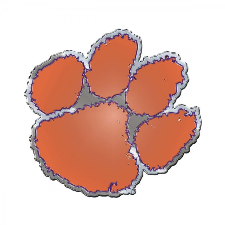 Clemson Tigers Color Emblem