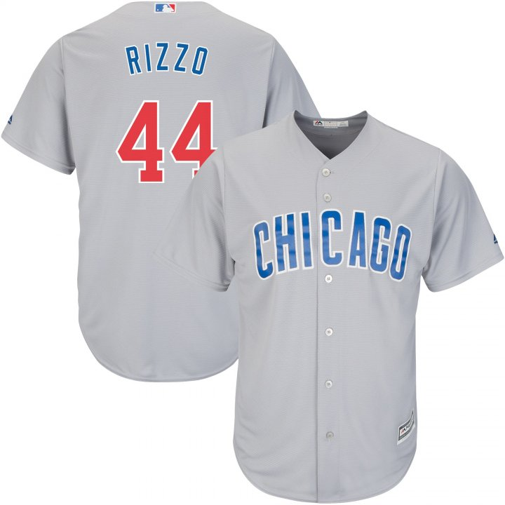 Outerstuff Youth Kids 44 Anthony Rizzo Chicago Cubs Baseball Jersey Gray