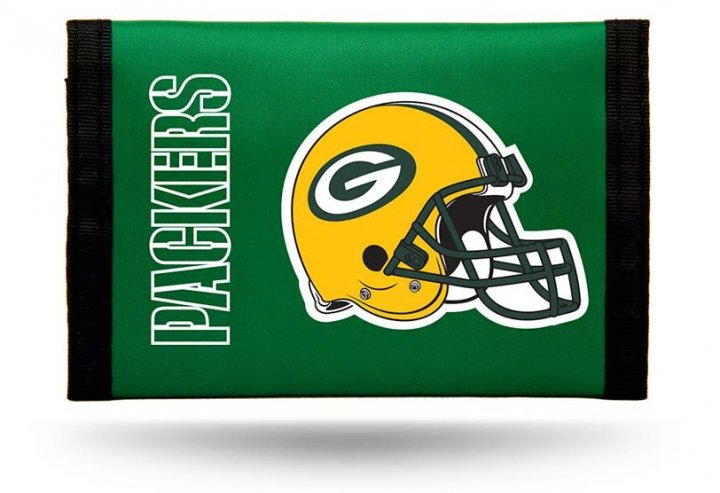 Green Bay Packers Nylon Wallet (Green)