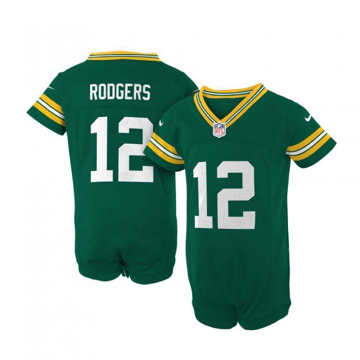 Aaron Rodgers Green Bay Packers Infant Nike Game Jersey (Green)