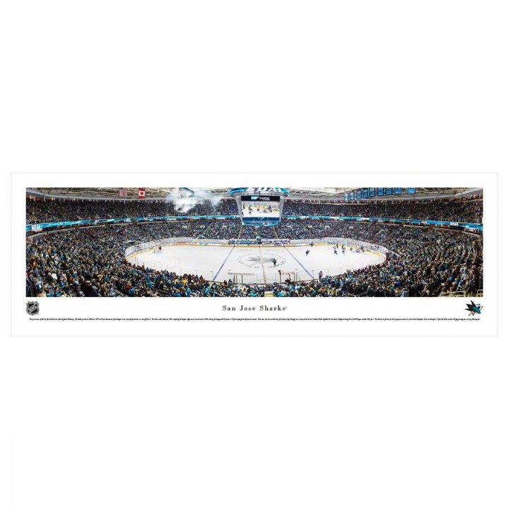 San Jose Sharks Unframed Panorama