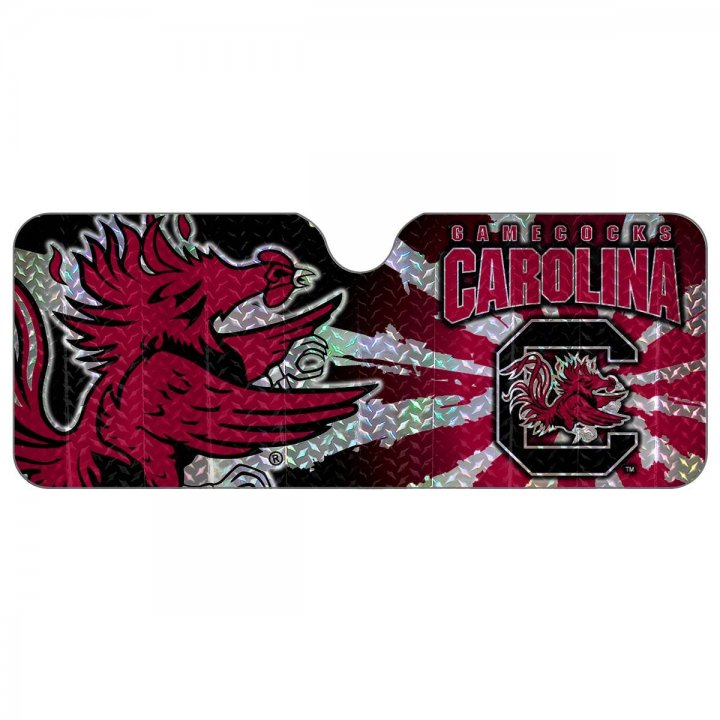 South Carolina Gamecocks Auto Sun Shade